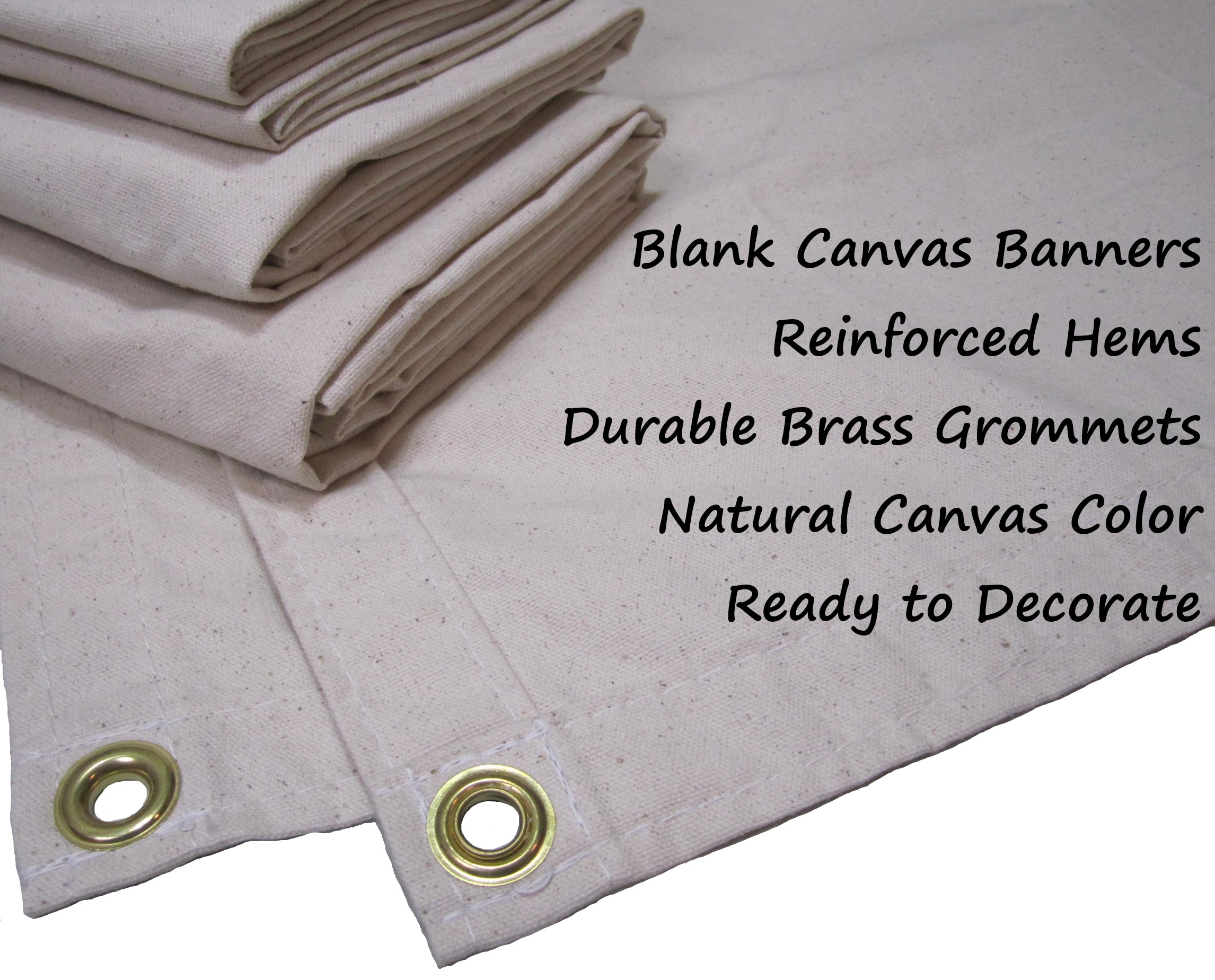 Blank Canvas Banners