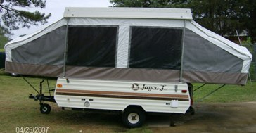 Popup camper canvas replacement