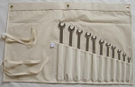 Tool Wrench Canvas Storage Pouch