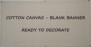 Canvas Banners - Blank