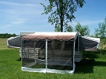 Screen Room for Shademaker Bag Awning